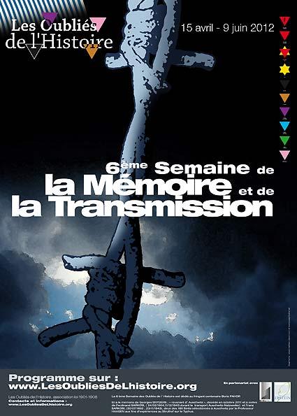 Affiche De La 6eme Semaine 2012 Les Oublies De L Histoire